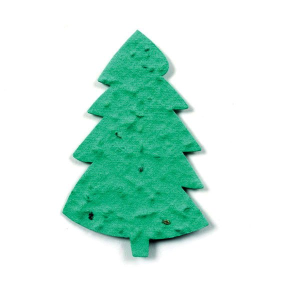 Seed Paper Shape Tree 8 - Forest Green