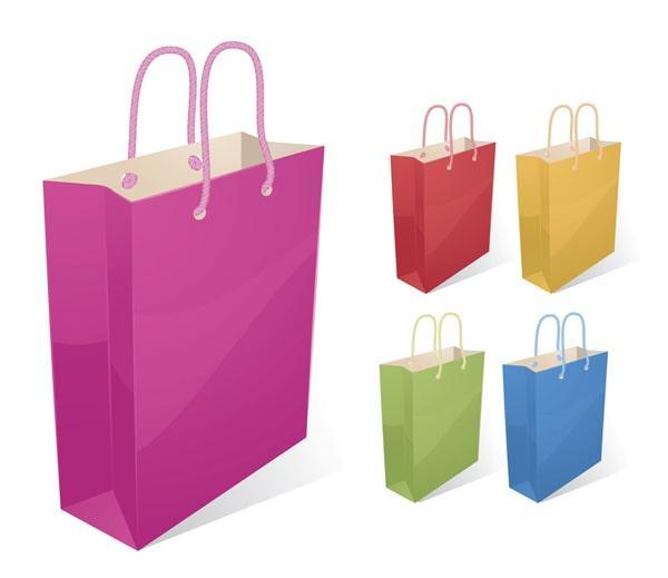 Custom Shopping Bags: Busy or Plain?