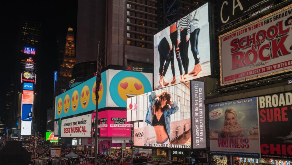 Big stores advertisements